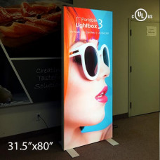 "Portable  LightBox - 3 3""Profile (1 Sided)"